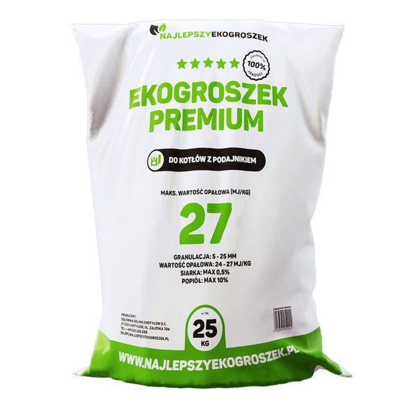 Najlepszy Ekogroszek 27MJ/kg - 1000kg - DOSTAWA GRATIS zdjęcie 1