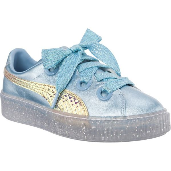 Puma PLATFORM GLITTER PRINCESS SOPHIA WEBSTER METALLIC BLUE FLUO ORANGE Rozmiar 40