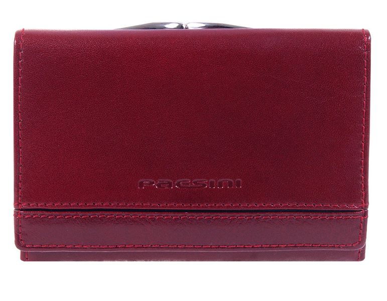 Wisniowy portfel damski - Paesini-1223 zdjęcie 1