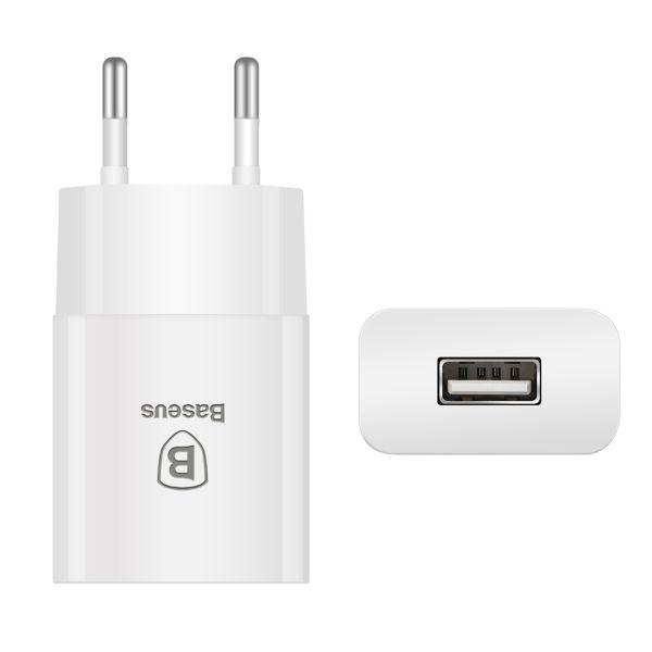 BASEUS LETOUR ŁADOWARKA SIECIOWA USB 2.1A ORYGINALNA iPhone Galaxy zdjęcie 7