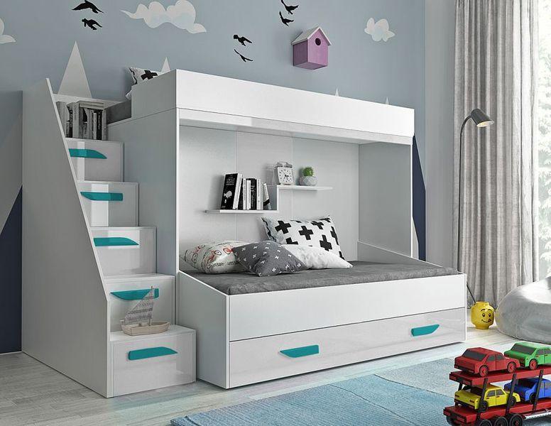 Łóżko piętrowe antresola LUX 16 zdjęcie 10