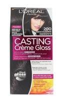 L´Oréal Paris Casting Creme Gloss Farba do włosów 1szt 200 Ebony Black
