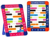 Kolorowe Liczydło szkolne plastikowe ZA1358