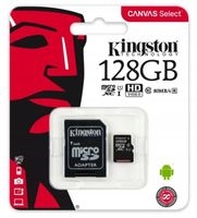 KARTA PAMIĘCI microSD 128GB KINGSTON Z ADAPTEREM