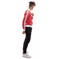 ARENA BLUZA ROZPINANA MAN RELAX IV TEAM JACKET ICONS RED-WHITE-RED XL