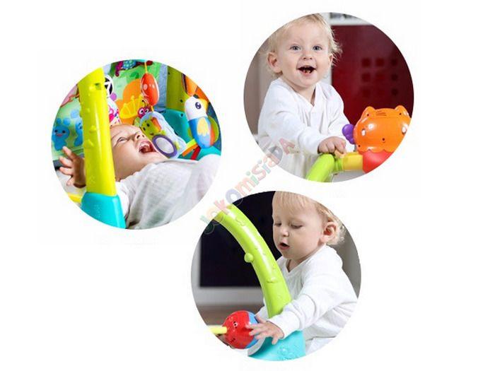 Kolorowy Interaktywny STOJAK 5w1 Dla Dzieci 0+ zdjęcie 16