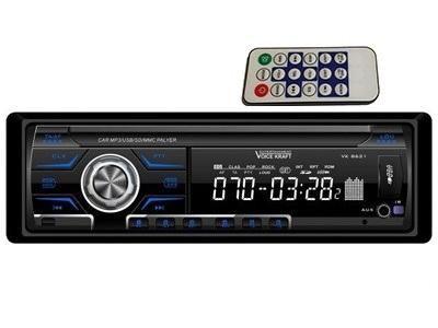 Radio samochodowe Voice Kraft VK-8621 BLUE radioodtwarzacz zdjęcie 1