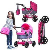 Chicco Wózek dla lalek głęboki gondola Junior Urban Pram + torba