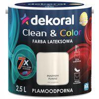 Dekoral Clean & Color 2,5L PUSZYSTY FLAUSZ