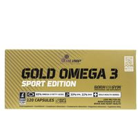 Olimp Gold Omega 3 Sport Edition - 120 kapsułek