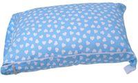 Worek BOBO do przedszkola pokrowiec na śpiworek błekitny w serduszka