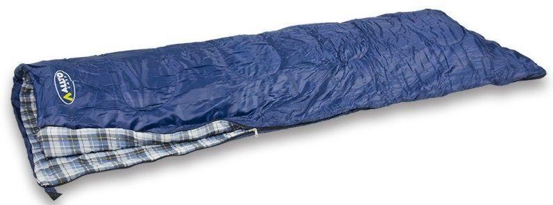 Śpiwór Allright Classic navy blue kołdra zdjęcie 1