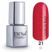 EM NAIL LAKIER HYBRYDOWY LADY IN RED 21