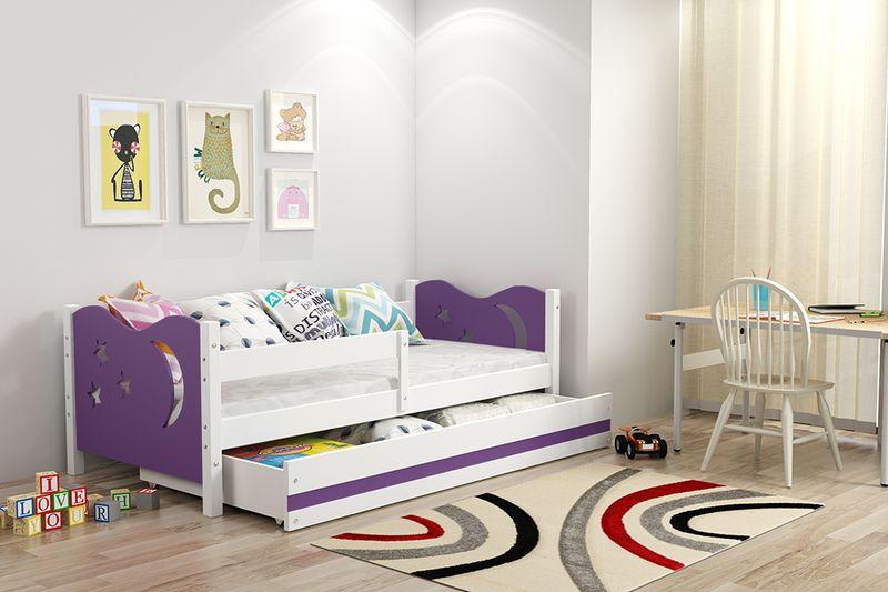 Łóżko łóżka Mikołaj dziecięce 160x80 parterowe + SZUFLADA zdjęcie 7