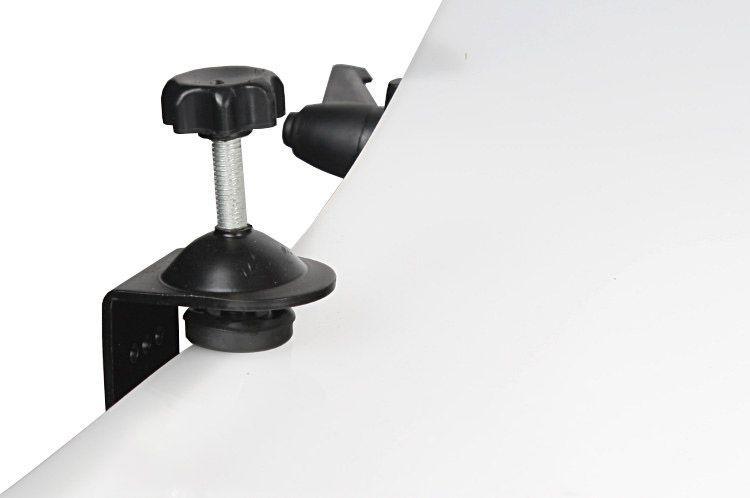 Stół bezcieniowy 60x130cm + 2 Imadła z trzpieniem zdjęcie 7