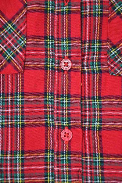 New Look Czerwona Luźna Koszula w Kratę - 34 / XS zdjęcie 5