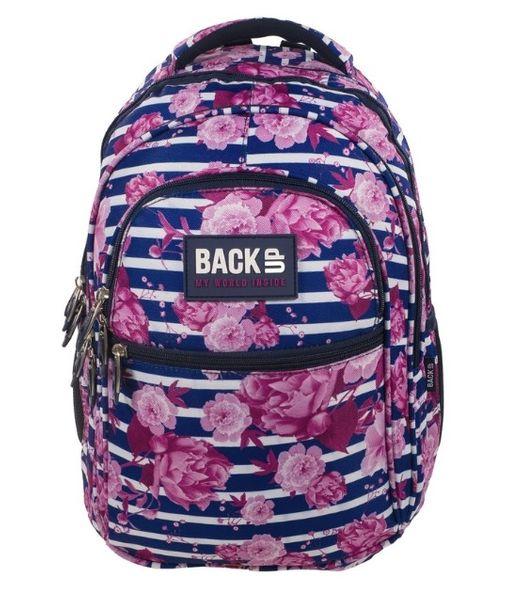 Plecak szkolny + piórnik Back Up zdjęcie 2