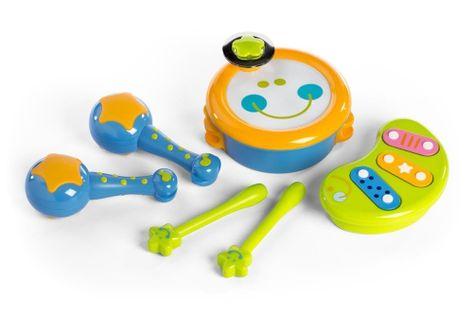 Moja pierwsza orkiestra - zestaw zabawek muzycznych - 4 elementy