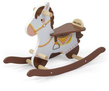Koń na biegunach Milly Mally Lucky 18 Brown 3332