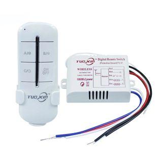 Włącznik radiowy 230V Zdalne Sterowanie 2x1000W