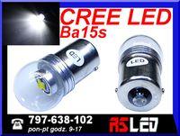 żarówka LED P21W ba15s Cree X-PE 12v 24v biała zimna kpl 2 szt