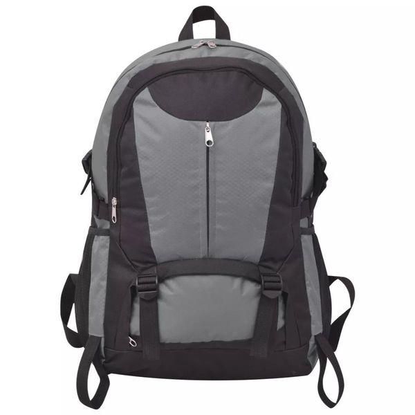 Plecak Turystyczny 40 L Czarny I Szary zdjęcie 5