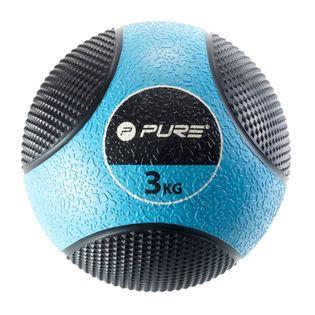 Pure2Improve Piłka lekarska, 3 kg, niebieska