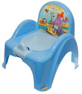 TEGA SF-010-126 Nocnik krzesełko SAFARI niebieski