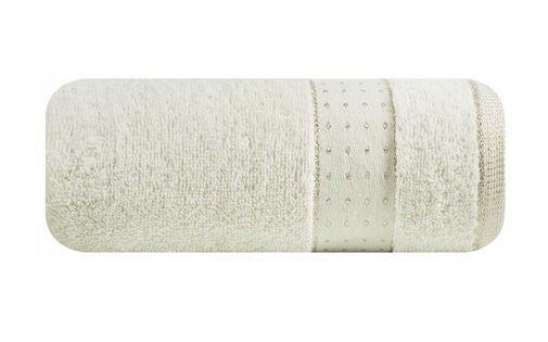 Lumarko Ręcznik BETH 70x140cm 01/kremowy