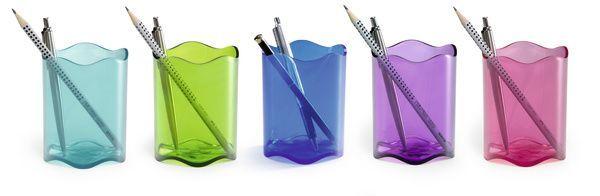 Pojemnik na długopisy zielony Trend Durable zdjęcie 2