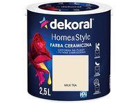 Farba ceramiczna Dekoral Home&Style 2,5l Milk Tea