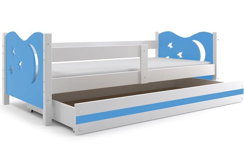 Łóżko łóżka Mikołaj dziecięce 160x80 parterowe + SZUFLADA zdjęcie 20