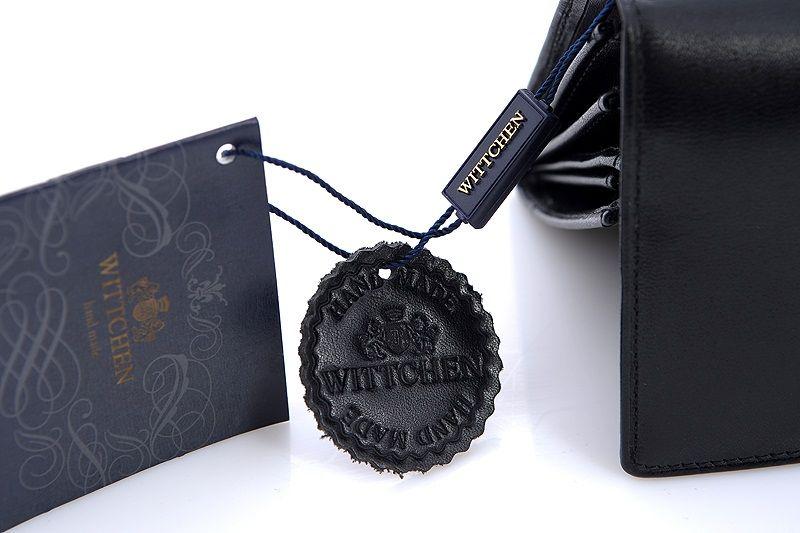 bd2c6747dec80 Długi czarny portfel Wittchen
