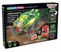Laser Pegs Świecące Klocki Green Monster 290El. 18201