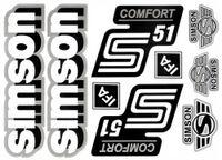 Naklejka SIMSON Comfort S51