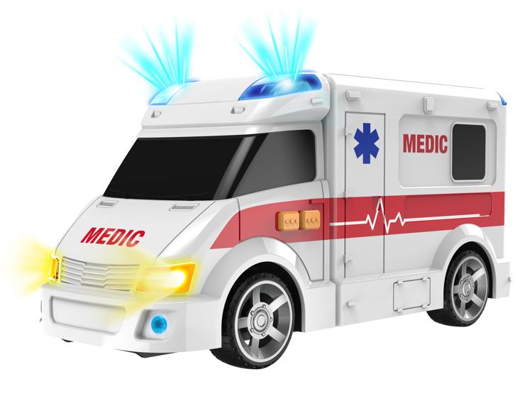Ambulans, auto karetka Flota Miejska Dumel zdjęcie 1