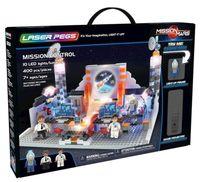 Laser Pegs Świecące Klocki Mission Control Centrum Dowodzenia 400El. 18004