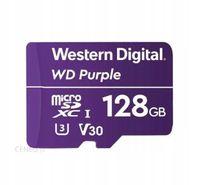 Karta pamięci SD 128GB monitoring Western Digital