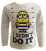 T-Shirt Minions 3 lata r98 Licencja Illumination (HQ1498) zdjęcie 1