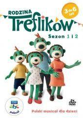 Rodzina Treflików. Sezony 1-2 DVD