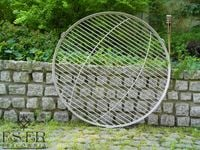 Ruszt do grilla ze stali nierdzewnej - okrągły 60 cm ES-ER