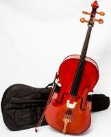 Wiolonczela 3/4 M-tunes No.150 drewniana - uczniowska
