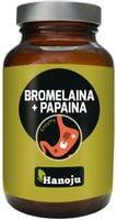 Hanoju Bromelaina  Papaina 500 Mg 90 K Trawienie
