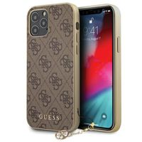 Etui do iPhone 12 / 12Pro, Case GUESS 4G Charms Collection