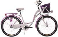 Kozbike Damski Rower Miejski 26 Damka 3 Biegi z Koszem (15)