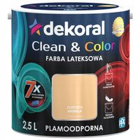 Dekoral Clean & Color 2,5L ZŁOCISTA MORELA