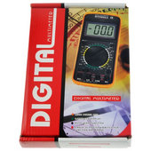 MULTIMETR LCD DT9205 CYFROWY MIERNIK ELEKTRONICZNY