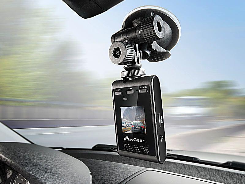 Rejestrator jazdy HD z odbiornikiem GPS i TFT NavGear MDV 2280.GPS zdjęcie 4