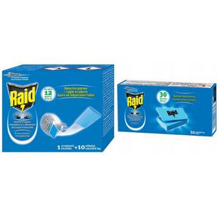 Elektrofumigator przeciw komarom owadobójczy Raid