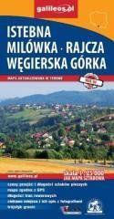 Mapa sztabowa -Istebnik,Milówka,Rajcza,Węgierska.. praca zbiorowa
